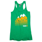 Women's Throwback Tank Top on Kelly