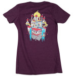Ladies Domes Summer Tour 2014 T on Plum
