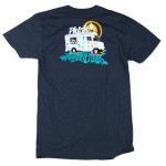Ice Cream Summer Tour 2014 T on Midnight Navy