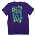 Ape Diver Summer 2016 Tour T on Vintage Purple