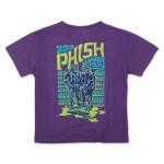 Kid's Ape Diver Summer 2016 Tour T on Tr-Purple
