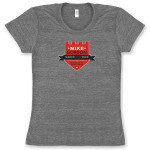Women's Mike Gordon Marchers T-Shirt on Tri-Blend Athletic Gray