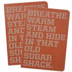 Sugar Shack Tour Journal/Setlist Pad
