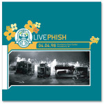 LivePhish: 4/4/98 Providence Civic Center, Providence, RI (3CD)
