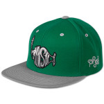 Green Mountain Flatbrim Snapback Hat