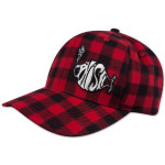 Small Axe Plaid Snapback Baseball Hat