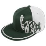 3-D Side Logo Flatbrim Hat on Spruce