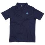 Puck Polo Shirt on Navy