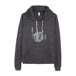 Ladies' Circuit Logo Lightweight Eco-Hoodie