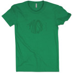 Classic Logo T on Kelly Green