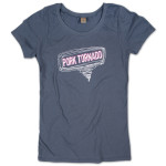Women's Pork Tornado Organic T on Earth Ocean