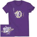 Ladies Space Flight Fall 2013 Tour T on Purple