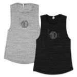 Ladies' Classic Distressed Muscle T