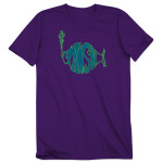 Union Stroke Logo T - Purple