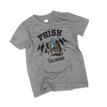 Kids Pollock Horse Sling Colorado Tee on Gray