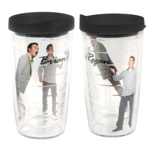 Brian Regan 16oz Tervis Tumbler with Black Lid
