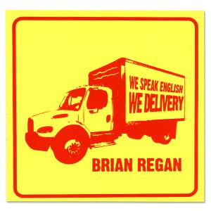 Brian Regan We Speak English Sticker