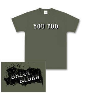 Brian Regan You Too Green Youth T-shirt