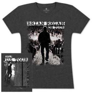 Brian Regan On Tour 2013 Women's Shirt – 2nd Leg, Jun – Dec