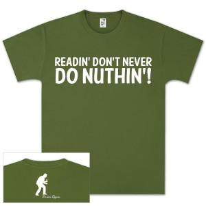Brian Regan Readin T-Shirt - Olive Green