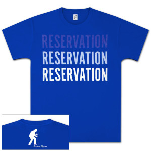 Brian Regan Reservation T-Shirt - Blue