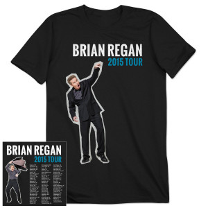 Brian Regan 2015 Tour Shirt