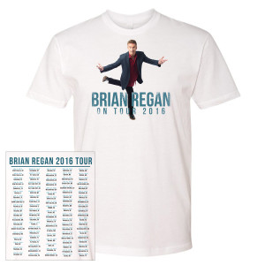 Brian Regan 2016 Tour Shirt