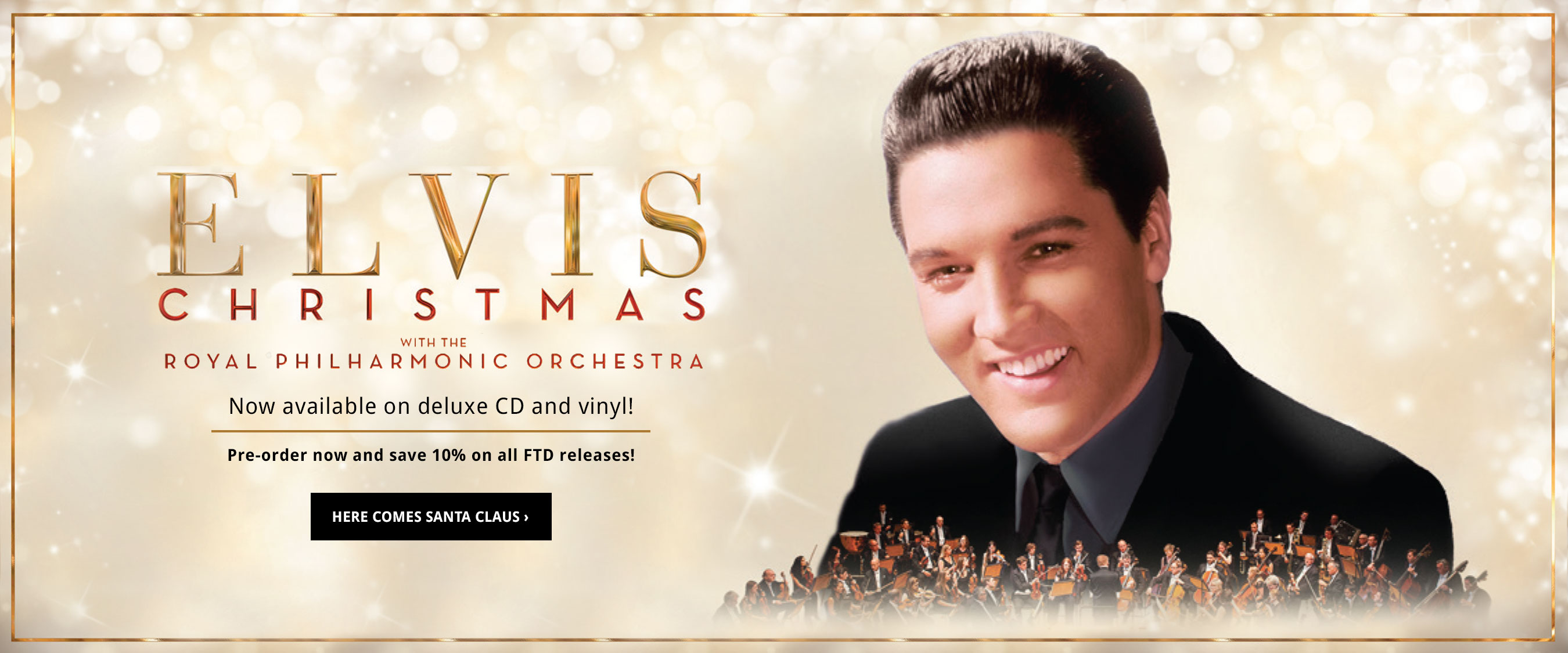 Pre-Order Christmas with Elvis and the Royal Philharmonic Orchestra