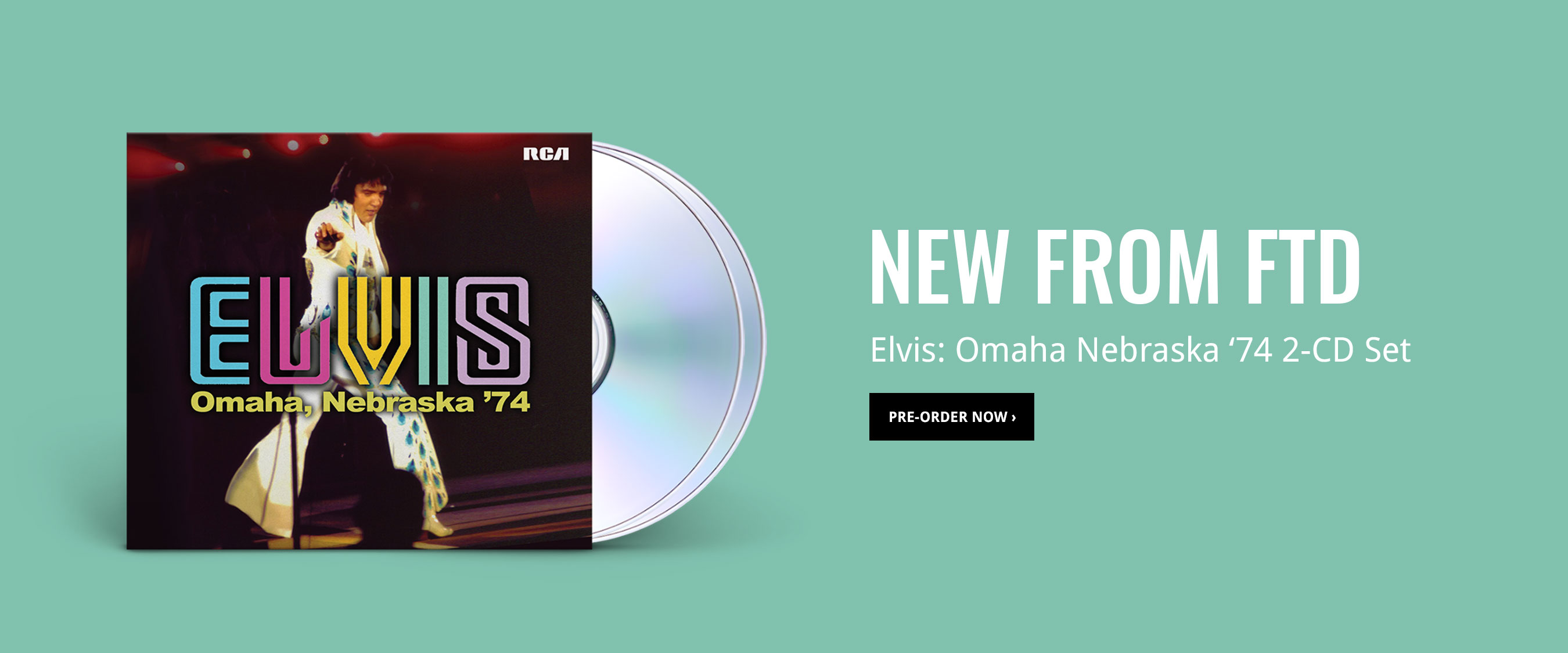 New from FTD: Omaha '74 2-CD Set!