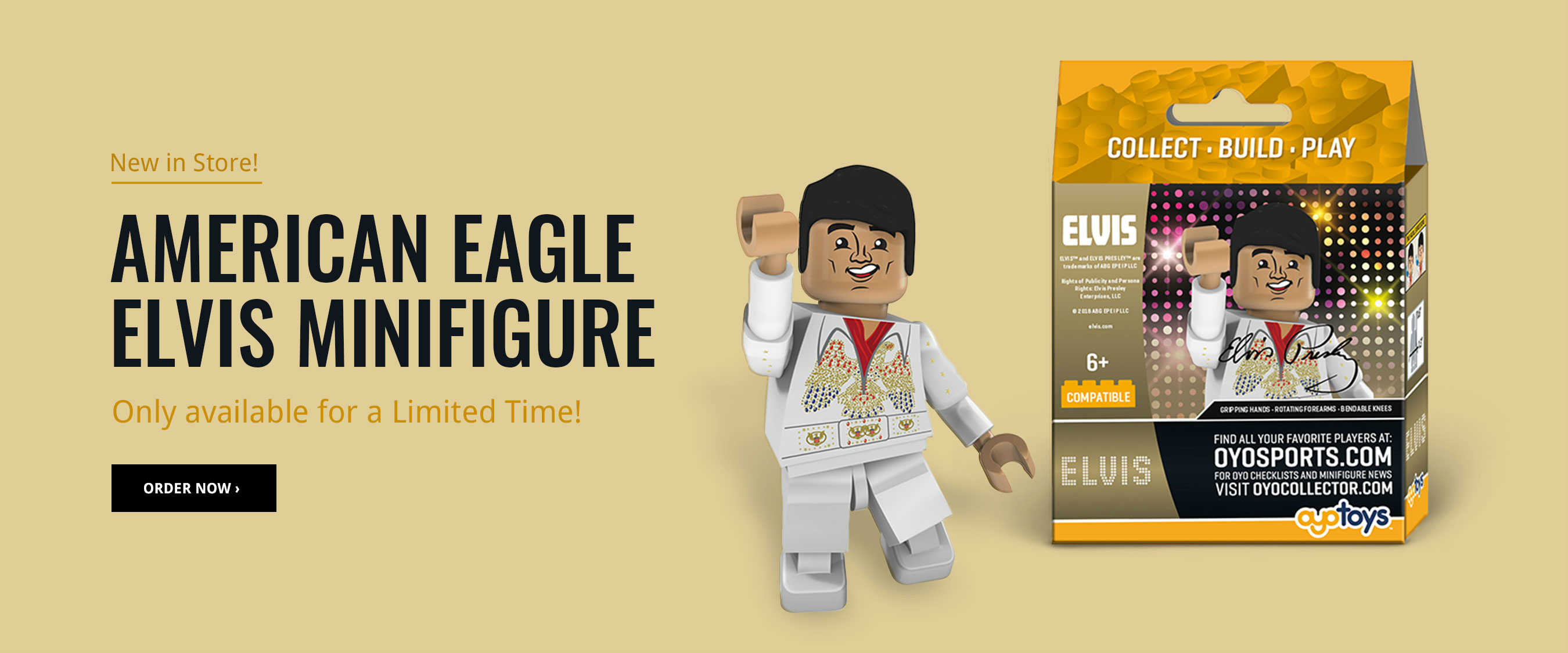 Order the Exclusive American Eagle Minifigure!
