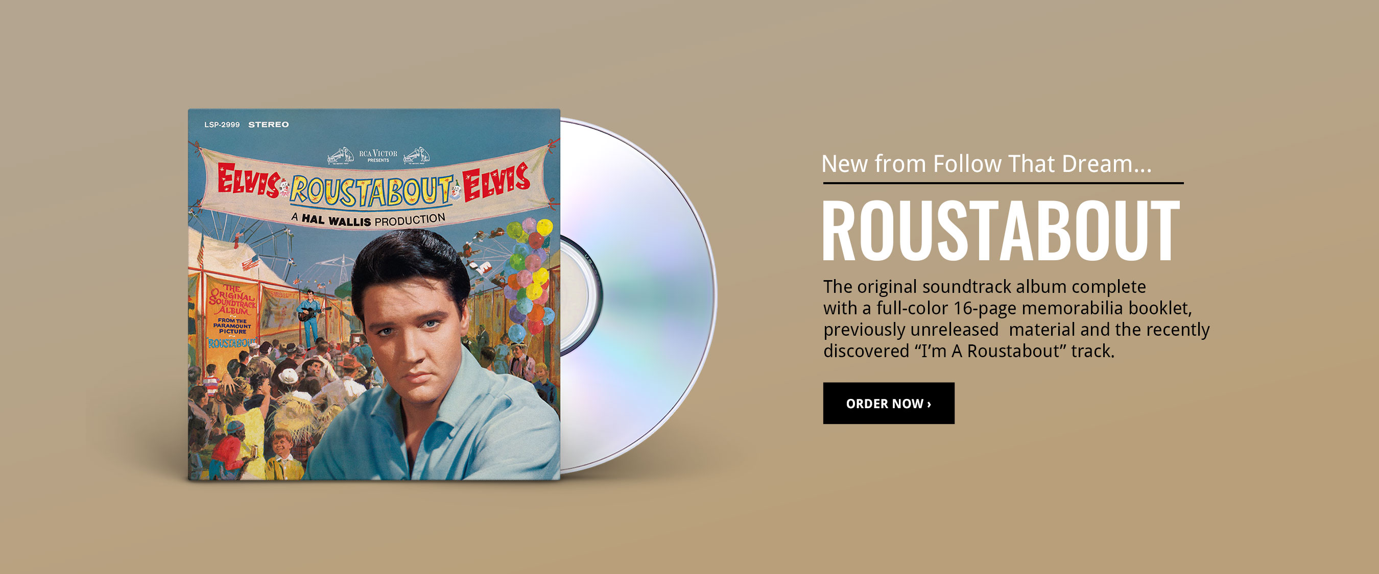 Order the Roustabout FTD CD!