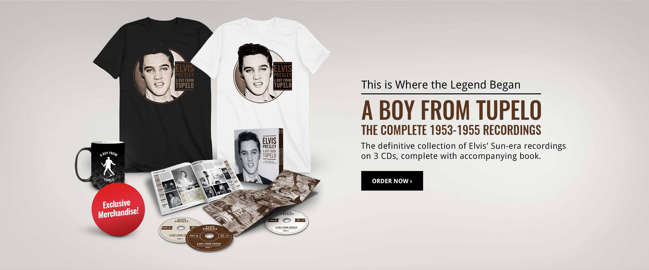 Order A Boy From Tupelo Exclusive Bundles!