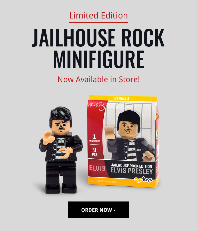 Order the New Jailhouse Rock Minifigure!