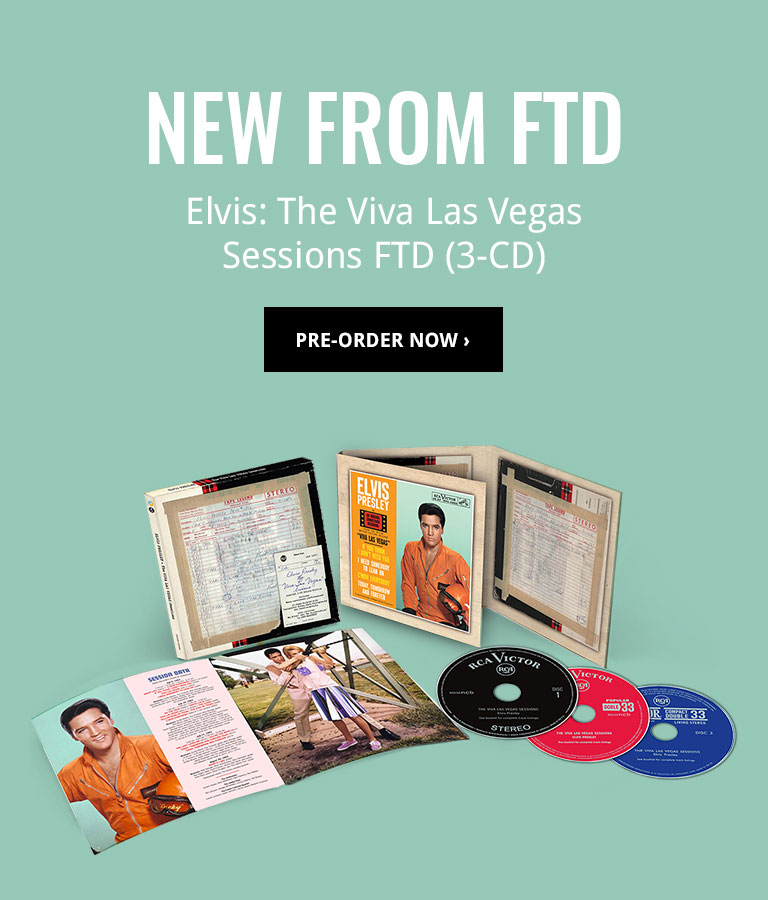 New from FTD: The Viva Las Vegas Sessions