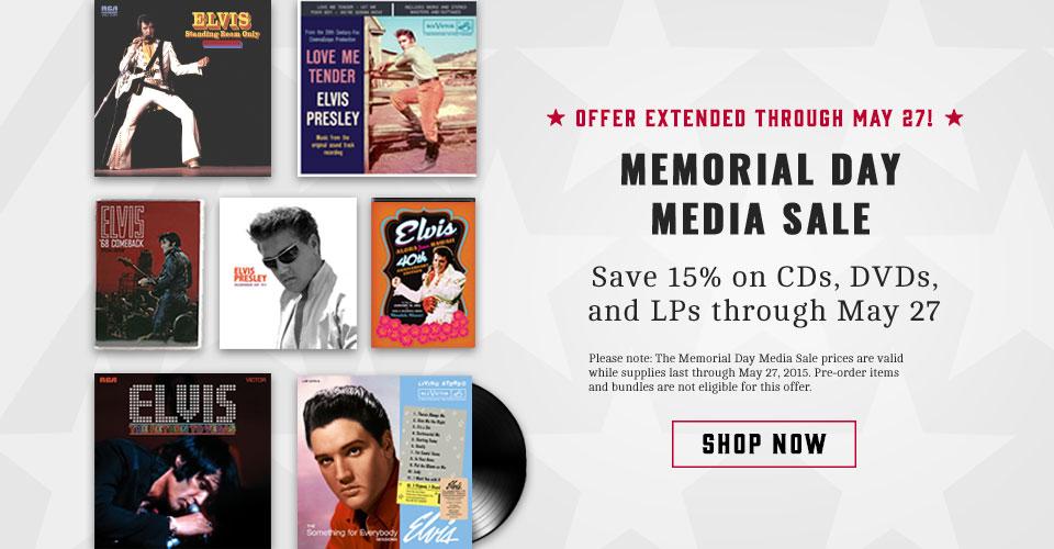 Memorial weekend media sale!