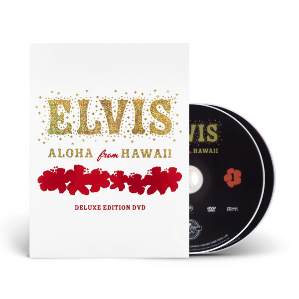 ELVIS: Aloha From Hawaii Deluxe Edition DVD | Shop the ShopElvis com