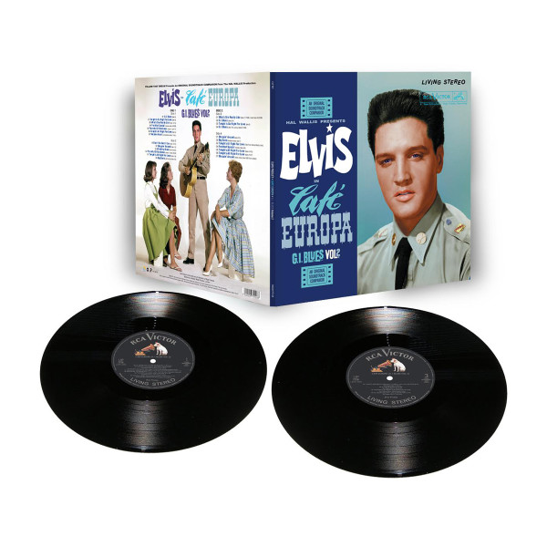 Elvis Cafe Europa Limited Edition FTD 2 Disc LP