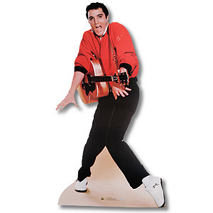 Jailhouse Rock Guitar Lifesize Talking Stand Up