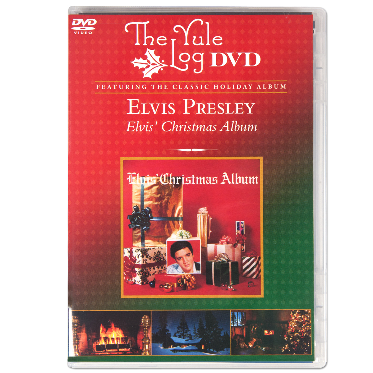 Elvis Christmas: The Yule Log DVD
