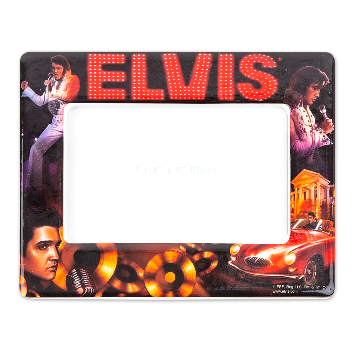 Elvis Collage Photo Frame