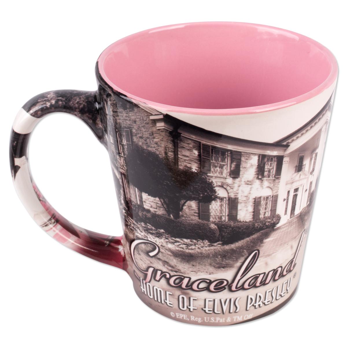 Elvis - Pink Cadillac Graceland Mug