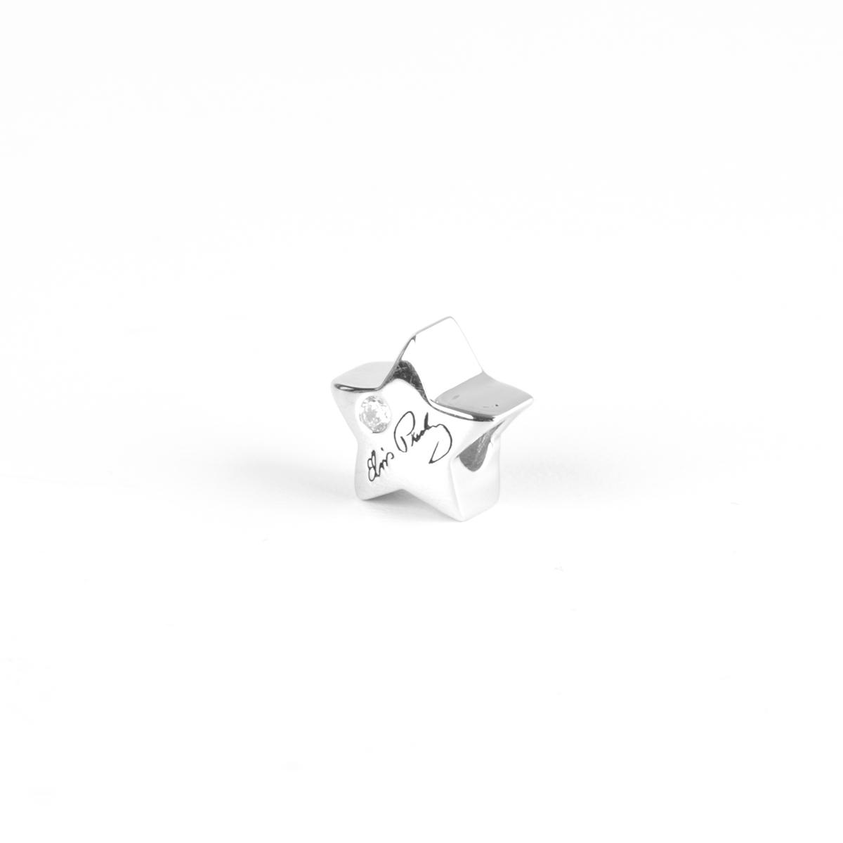 Elvis Silver Charm - Signature Star Bead