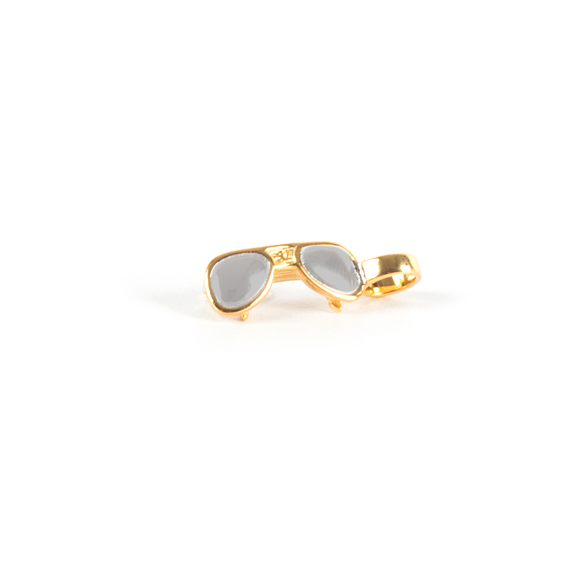 Elvis Silver Charm - Sunglasses Dangle Bead
