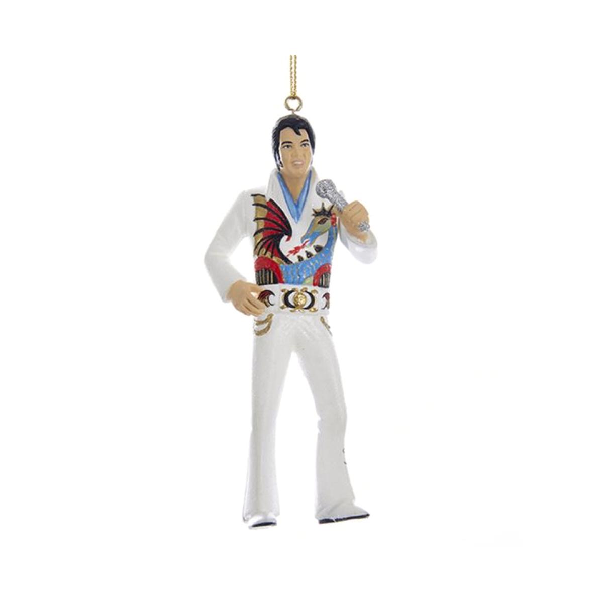 Elvis Presley Dragon Jumpsuit Ornament