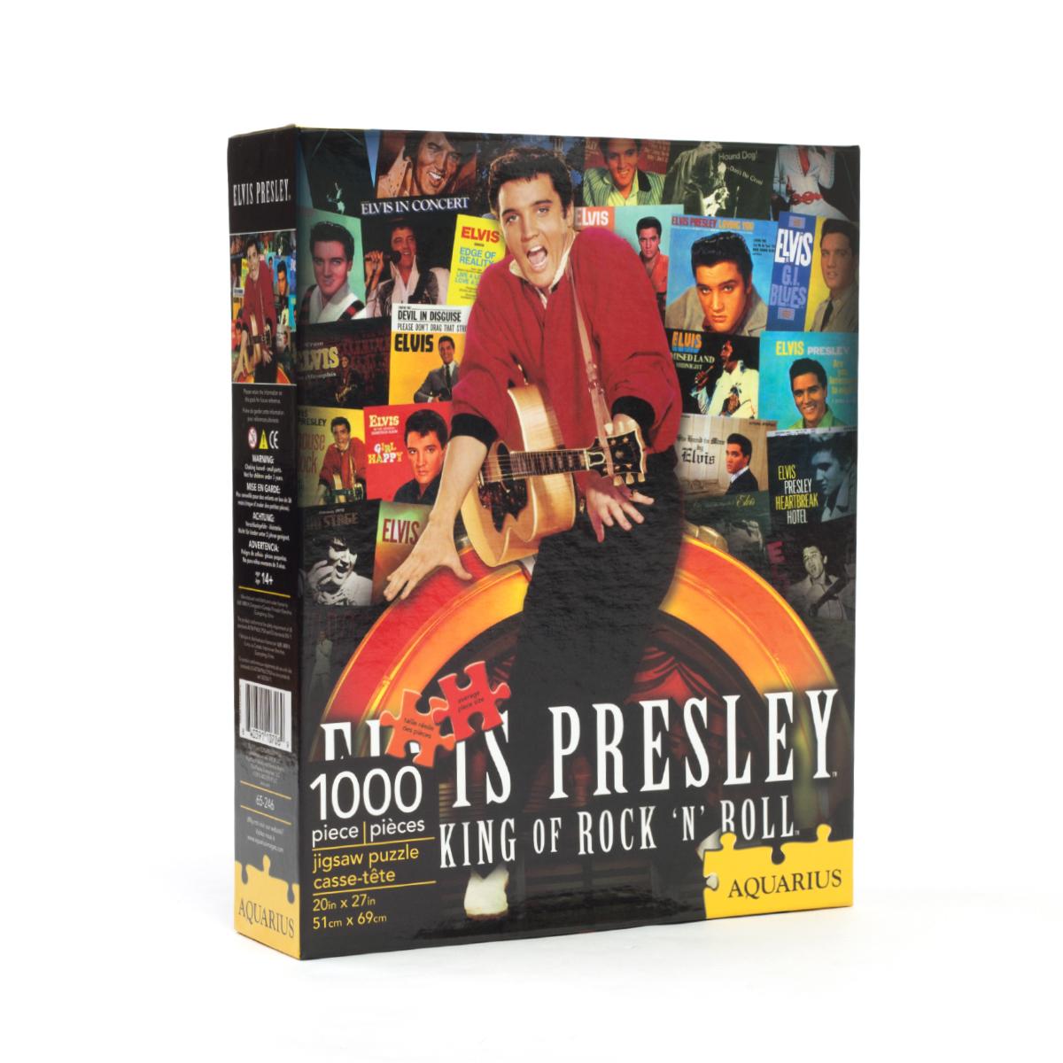 Elvis Albums Collage 1000pc Puzzle