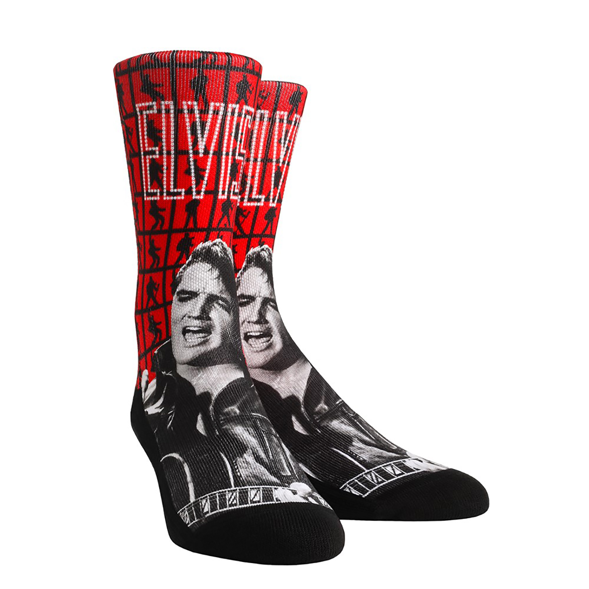 Elvis Presley Comeback Special Lights Socks - Adult