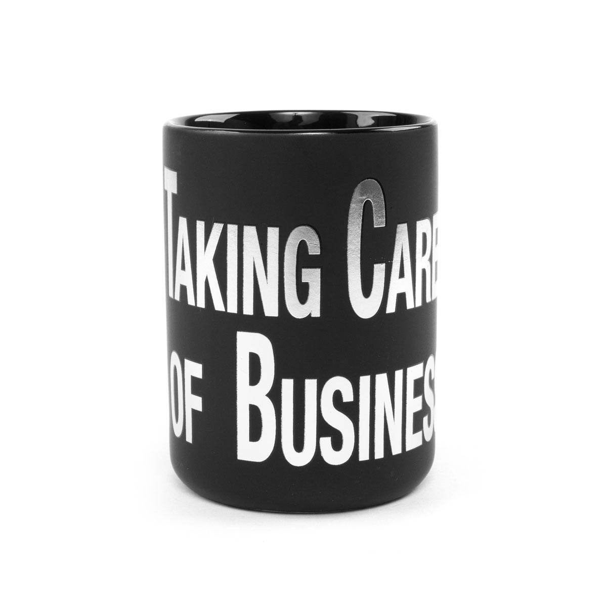 Elvis Presley Black TCB Mug