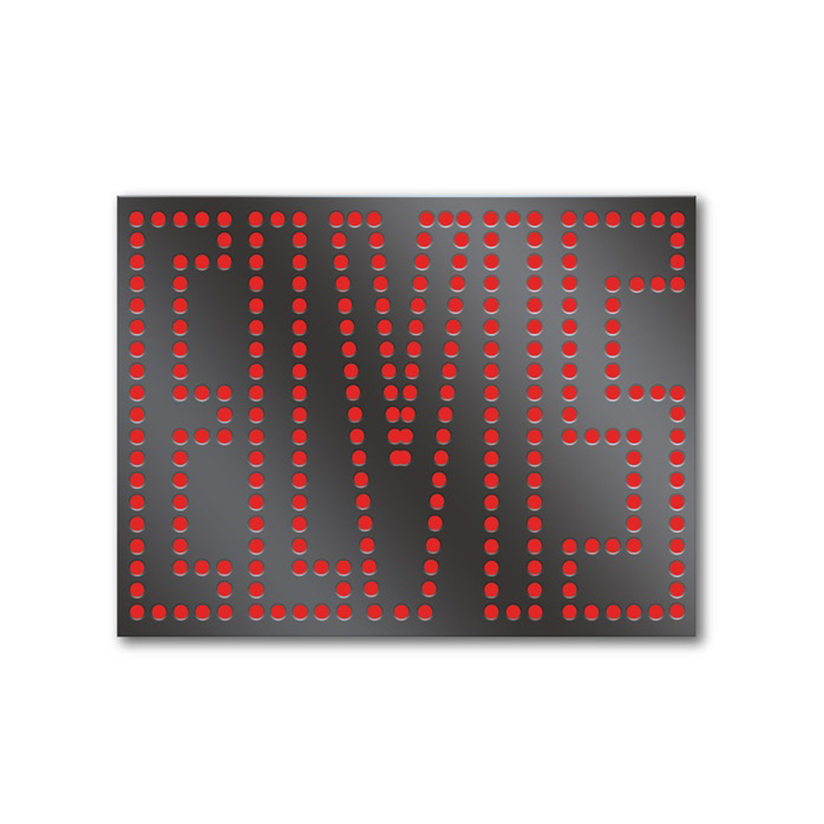 ELVIS in Lights Enamel Pin
