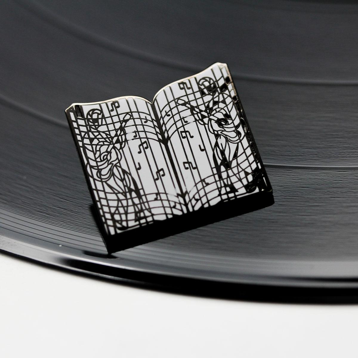 Elvis Music Figures Enamel Pin