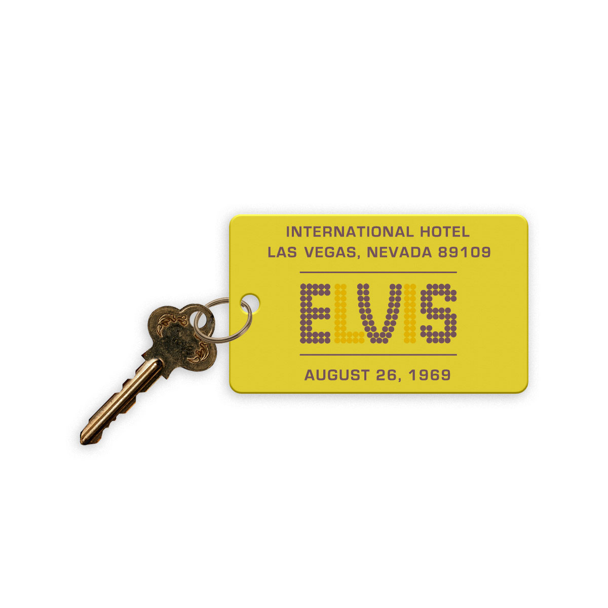 Elvis LIVE 1969 International Hotel Replica Hotel Room Key